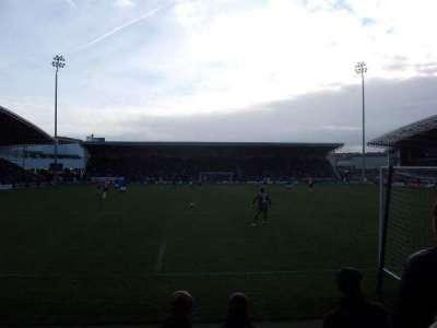 Proact Stadium, row: F, seat: 78