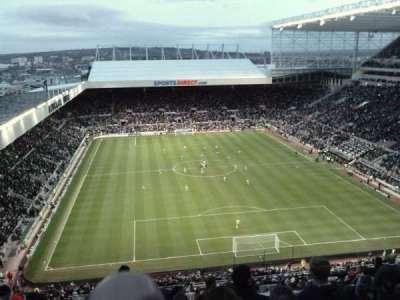 St James' Park, section: L7M, row: L, seat: 0532