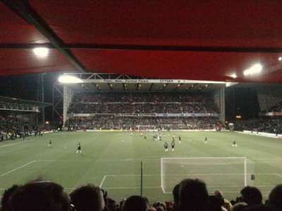 City Ground, section: Y1, row: X, seat: 159