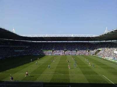 Madejski Stadium, section: R28, row: Q, seat: 0089