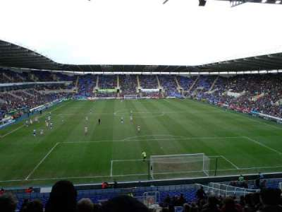 Madejski Stadium, section: R30, row: EE, seat: 139
