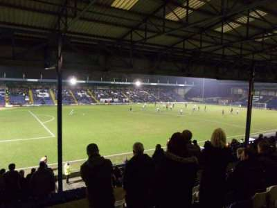 Gigg Lane, section: Main Stand, row: E, seat: 165