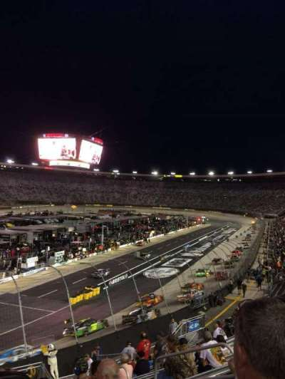 Bristol Motor Speedway, section: Richard Petty, row: 22, seat: 4