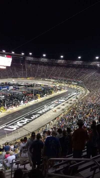 Bristol Motor Speedway, section: Waltrip E, row: 53, seat: 8