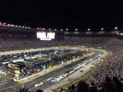 Bristol Motor Speedway, section: Waltrip E, row: 53, seat: 4