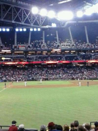 Chase Field, section: 106