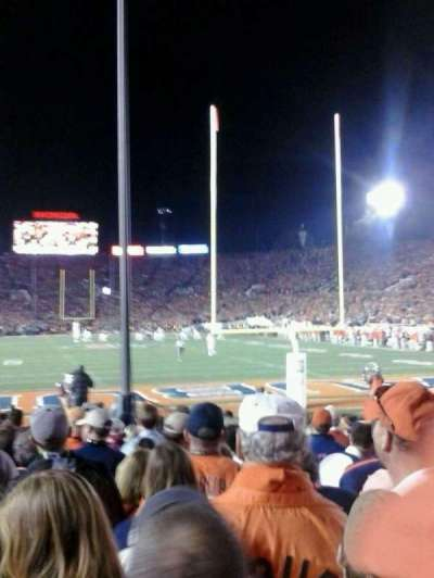 Rose Bowl, section: 25-L, row: 7, seat: 9