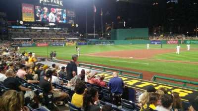 PNC Park, section: 21, row: M, seat: 6