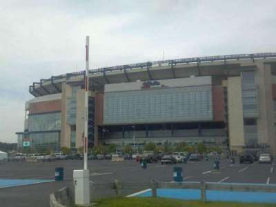 Gillette Stadium section Street