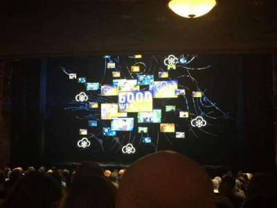 August Wilson Theatre, section: Orchestra, row: U, seat: 4