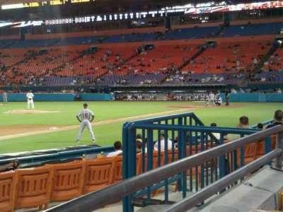 Hard Rock Stadium, section: 102, row: 1, seat: 9