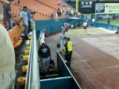 Hard Rock Stadium, section: 102, row: A, seat: 9