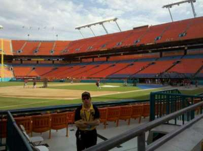 Hard Rock Stadium, section: 102, row: A