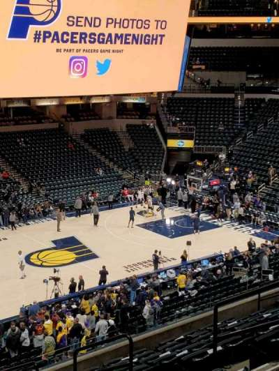 Seat View Reviews From Bankers Life Fieldhouse Home Of