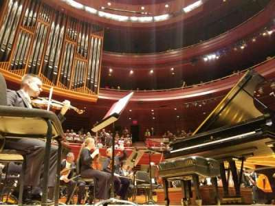 Verizon Hall at the Kimmel Center, section: Orchestra, row: B, seat: 125