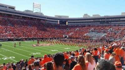 Boone Pickens Stadium, section: 227, row: 9, seat: 13