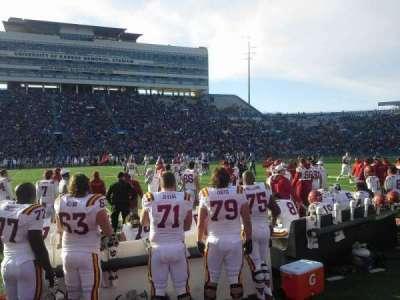 University of Kansas Memorial Stadium, section: 22, row: 1