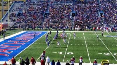 University of Kansas Memorial Stadium, section: 23, row: 28, seat: 28