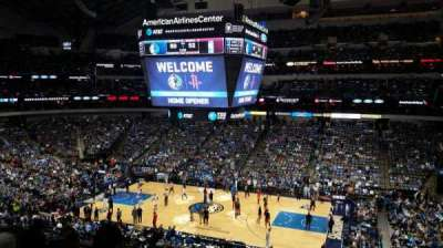 American Airlines Center, section: 216, row: F, seat: 5