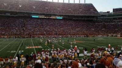 Texas Memorial Stadium, section: 30, row: 14, seat: 9