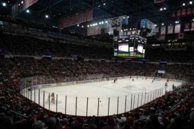 Joe Louis Arena, section: 226 c standing room, row: 1, seat: 1