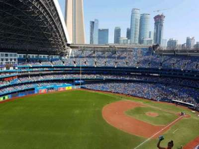 Rogers Centre, section: 536L, row: 15, seat: 105
