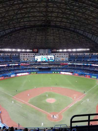 Rogers Centre, section: 524bl, row: 12, seat: 102