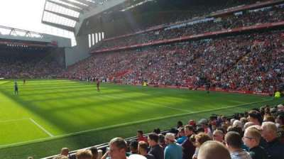 Anfield, section: 124, row: 17, seat: 98
