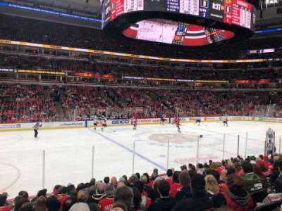 United Center, section: 113, row: 12, seat: 7