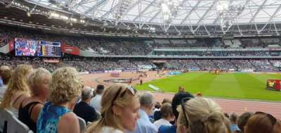 London Stadium, section: 133, row: 16, seat: 341
