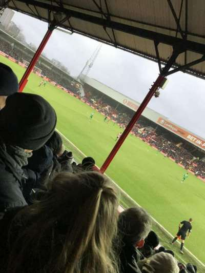 Griffin Park, section: New Road Stand- Area N502, row: O, seat: 0046