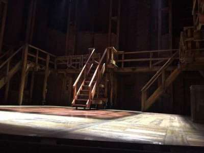 PrivateBank Theatre, section: Orchestra L, row: B, seat: 2