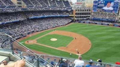 PETCO Park, section: UR315, row: 10, seat: 6