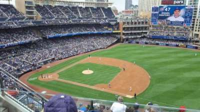 PETCO Park, section: UR315, row: 10, seat: 7
