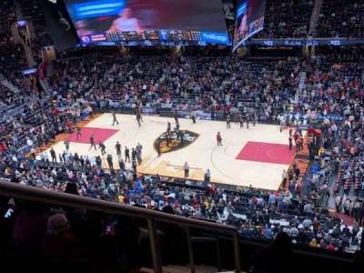 Quicken Loans Arena, section: 211, row: 8, seat: 1