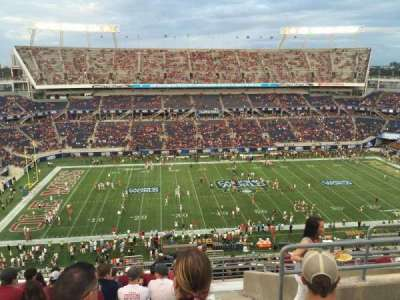 Camping World Stadium, section: 236, row: R, seat: 5