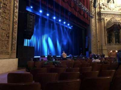 Chicago Theatre, section: Main Floor 2L, row: NN, seat: 219