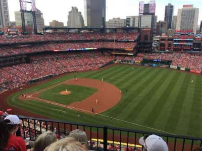 Busch Stadium, section: 439, row: 3, seat: 14
