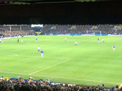 Goodison Park, section: GT1, row: PP, seat: 26