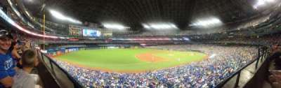 Rogers Centre, section: 233L, row: 1, seat: 105