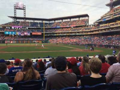 Citizens Bank Park, section: 130, row: 12, seat: 13