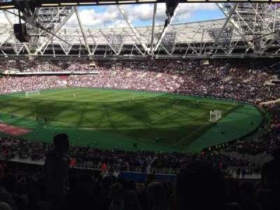 London Stadium, section: 214, row: 63, seat: 255