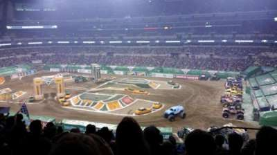 Lucas Oil Stadium, section: 409, row: 8, seat: 1, 2 , 3 ,