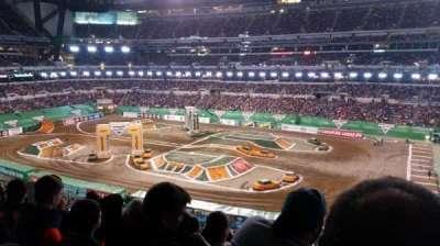 Lucas Oil Stadium, section: 409, row: 5, seat: 1