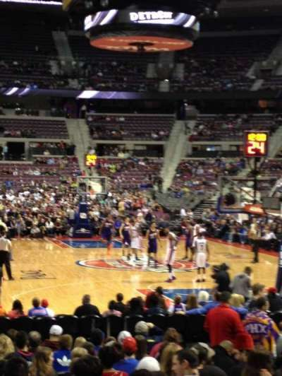 The Palace of Auburn Hills, section: 108, row: C, seat: 5