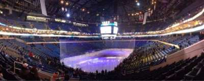KeyBank Center, section: 109, row: 30, seat: 15