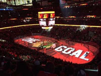 United Center, section: 314, row: 6, seat: 1