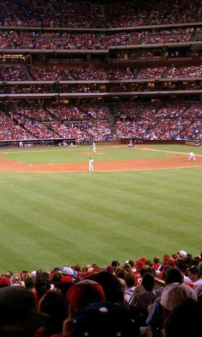 Citizens bank park  section Ashburn Alley