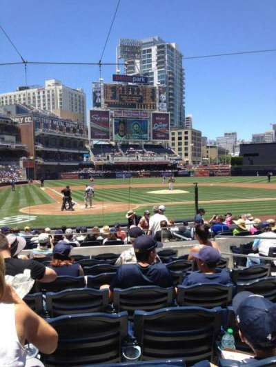 Petco Park, section: 103, row: 16, seat: 9