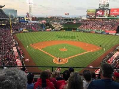 Angel Stadium, section: V419, row: E, seat: 10